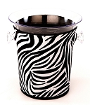 Ice Bucket Cover Zebra