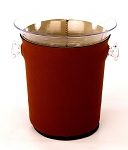 Ice Bucket Cover Brown