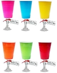 """Solo"" Cup Wine Glass Fun Colors"
