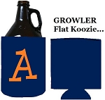 Growler Navy Neoprene Koozie