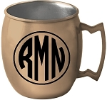 Moscow Mule Mug (16 oz Copper coated STAINLESS)