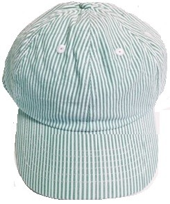 SEERSUCKER Cap Green (Kelly)