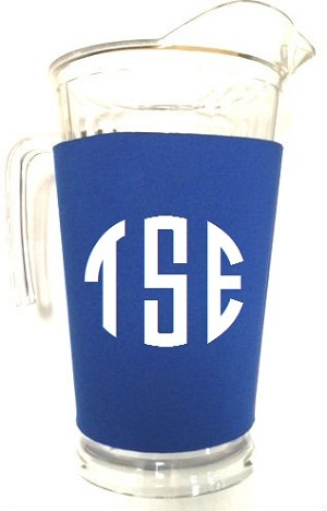 Acrylic Pitcher with SLEEVE Royal