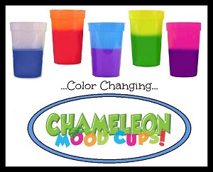 Chameleon Mood Cups Asst'd 17oz (10 pc @ 5 Colors/2 ea)