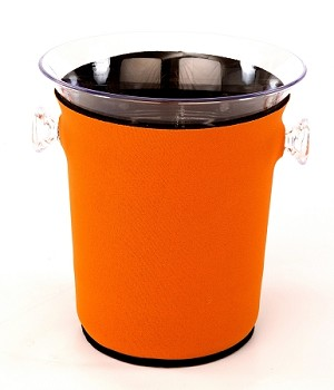 Ice Bucket Cover Burnt Orange