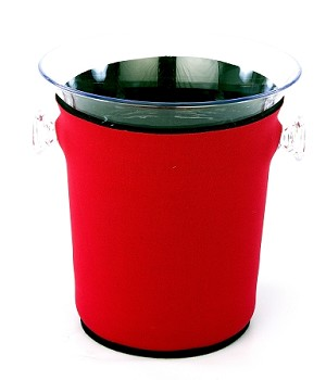 Ice Bucket Cover Red