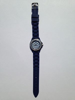 Navy Chevron Watch
