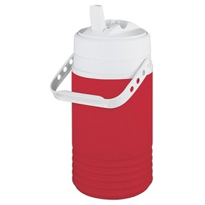 Beverage Half gal Cooler Red