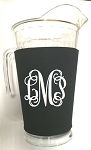 Acrylic Pitcher with SLEEVE Black