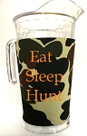 Acrylic Pitcher with SLEEVE Army Camo