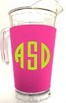 Acrylic Pitcher with SLEEVE Pink